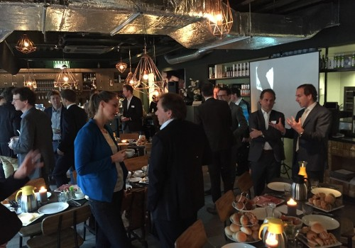 Investors breakfast over energy storage op Amsterdamse Zuidas