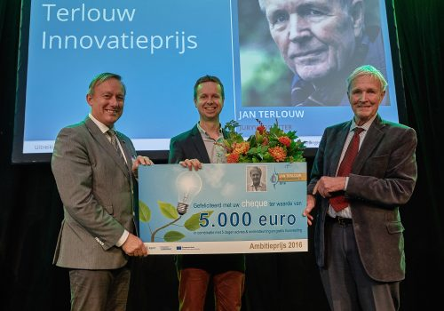 Elestor granted 'Jan Terlouw Ambition Award 2016' and 'Public Award'