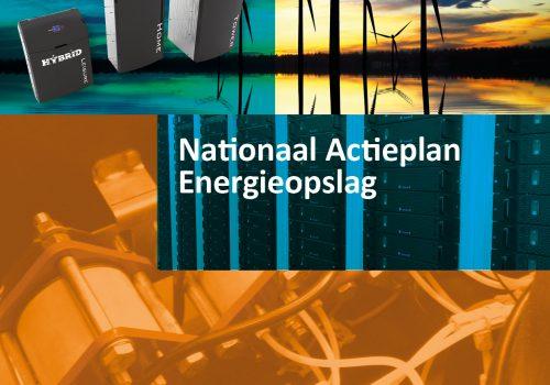 Nationaal Actieplan Energieopslag overhandigd aan de politiek