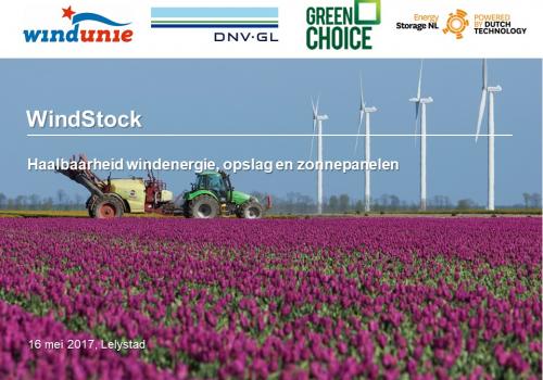 Onderzoek windmolen(s) met energieopslag: business case wordt steeds beter