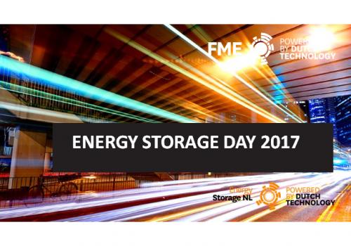 Energy Storage Day 2017 zeer succesvol